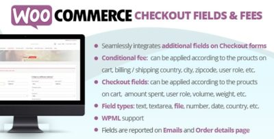 WooCommerce Checkout Fields And Fees 8.6