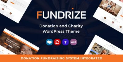 Fundrize Donation and Charity Theme 1.20