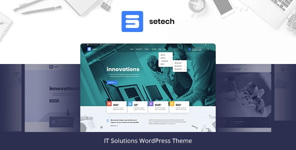 Setech – IT Services and Solutions WordPress Theme v1.0.3
