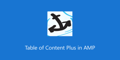 Table Of Content Plus For AMP 1.6.6