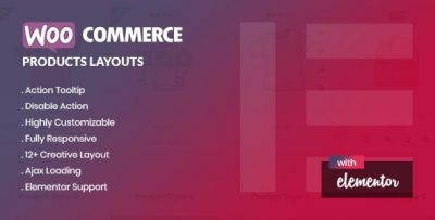 Yolo Products Layouts – WooCommerce Addon for Elementor Page Builder v1.0.0