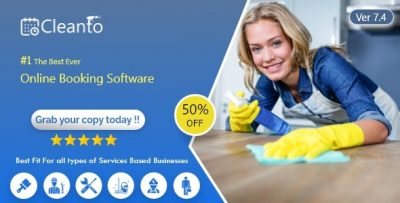 Cleanto – Bookings management system for cleaners and cleaning companies v7.4