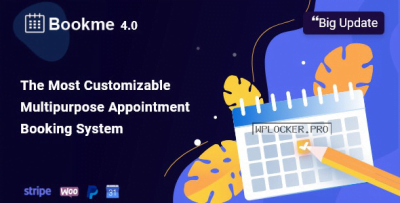 Bookme Pro v4.2.1 - WordPress Appointment Booking and Scheduling Software