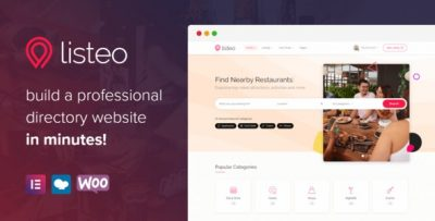 Listeo 1.7.02 – Directory & Listings With Booking – WordPress Theme