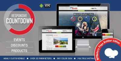 Visual Composer Addon – CountDown Timer PRO for WPBakery Page Builder v2.1