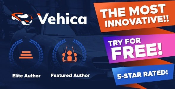 Vehica Car Dealer And Directory theme 1.0.59