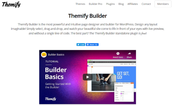 Themify Builder – Drag & Drop Page Builder For WordPress v5.0.6