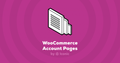 Iconic WooCommerce Account Pages 1.0.8