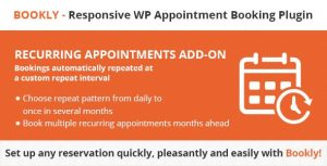 Bookly Recurring Appointments Addon 4.2