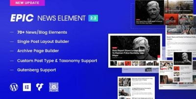 Epic News Elements – News Magazine Blog Element & Blog Add Ons for Elementor & WPBakery Page Builder 2.3.4