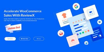 ReviewX Pro 1.2.3 – Rating and Reviews for WooCommerce