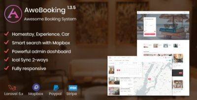 AweBooking – Awesome Booking System v1.3.5
