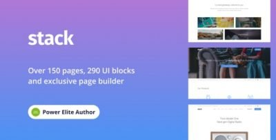 Stack – Multi-Purpose WordPress Theme with Variant Page Builder & Visual Composer v10.6.1