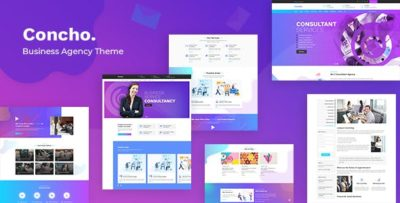 Concho 1.8 – Consulting Services WordPress Theme