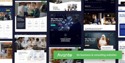 Avante Business Consulting Theme 2.4