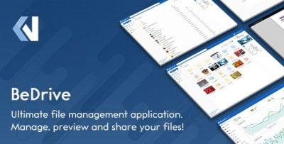 BeDrive – File Sharing and Cloud Storage v 2.2.5