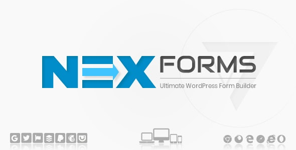 NEX-Forms 7.9.3 – The Ultimate WordPress Form Builder+ Addons