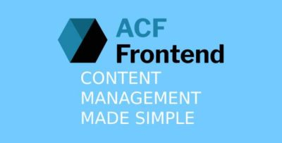 ACF Frontend For Elementor Pro 3.0.18