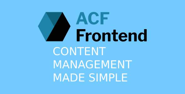 ACF Frontend For Elementor Pro 3.1.6