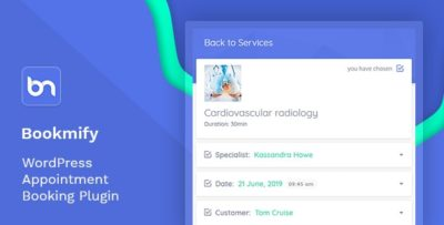 Bookmify – Appointment Booking WordPress Plugin v1.4.9