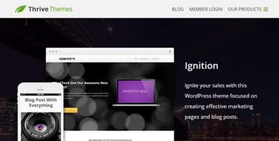 Thrive Themes Ignition Theme 2.5.1