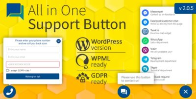 All in One Support Button v2.1.7