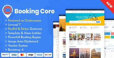 Booking Core – Ultimate Booking System v1.9.3