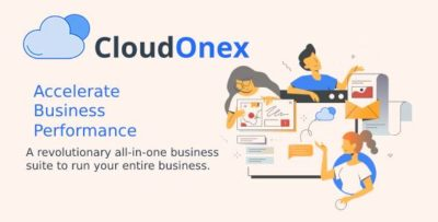 CloudOnex – A Revolutionary All-in-one Business Suite To Run Your Entire Business v6.0