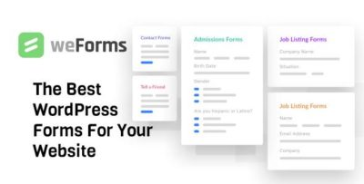 weForms Business 1.3.16 – Contact Forms for WordPress Plugin