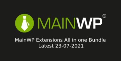 MainWP Extensions All in one Bundle Latest 23-07-2021