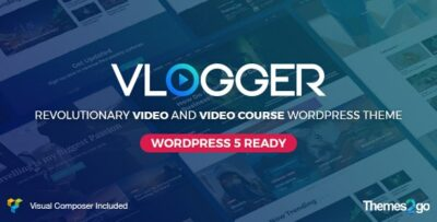 Vlogger Video and Tutorials Theme 2.6.6