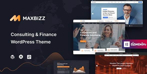 Maxbizz Consulting And Financial Theme 1.0.2