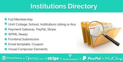 Institutions Directory v1.3.0