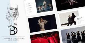 Bard - A Theatre and Performing Arts Theme 1.4